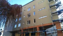 Auf den Punkt Architekten Dresden - Energetische Sanierung (Fenster + WDVS) im bewohnten Zustand 1