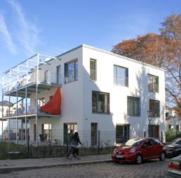 Auf den Punkt Architekten Dresden - Baugemeinschaft 4 Wohnhäuser