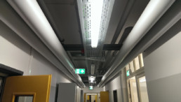 Auf den Punkt Architekten Dresden - Neuorganisation Verlegewege Medienleitungen