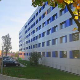 Auf den Punkt Architekten Dresden - Umbau eines Plattenbaus für die TU Dresden