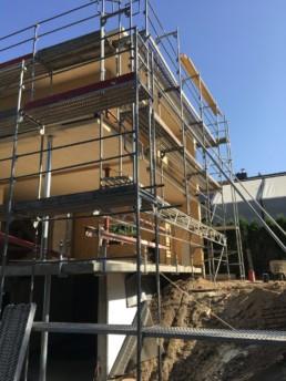 Auf den Punkt Architekten - Neubau einer Villa in Holzbauweise